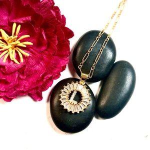 Initial L Necklace, Letter L, Personalized L, Boho